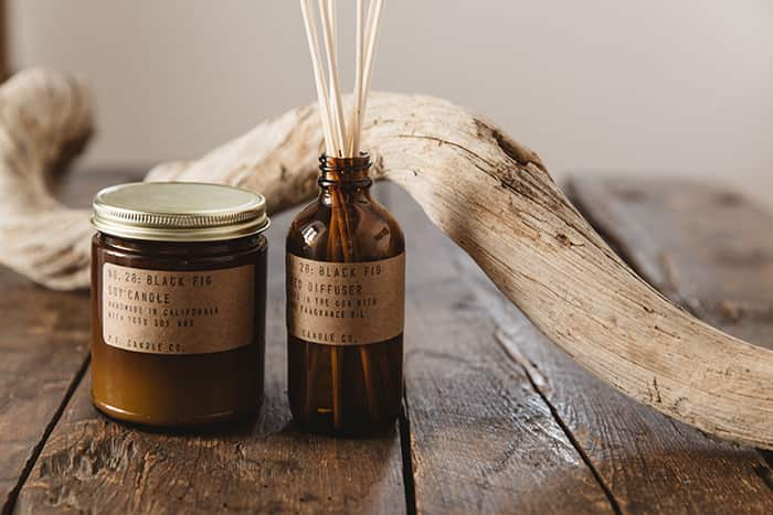 P.F. Candle Co. candles & diffusers now available exclusively in-store and online at No64 Biscuit House