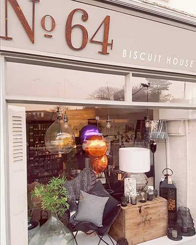 No64 Biscuit House in Milford on Sea on the morning of our 1st birthday, our 12 month anniversary.