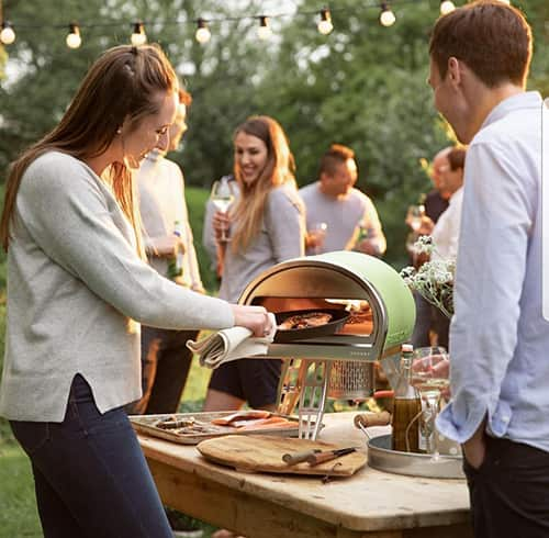 The Roccbox wood & gas pizza oven by Gozney, photographic shoot, May 2018.