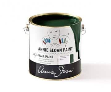 Amsterdam Green Wall Paint by Annie Sloan