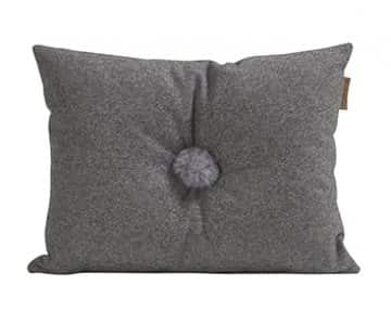 'Anita' - Wool Cushion in Granite (colour). By Shepherd of Sweden.