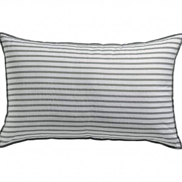 'Apala' Cushion, made from 100% Cotton, and presented in Pearl. By Vivaraise of France