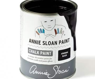 Athenian Black Chalk Paint by Annie Sloan