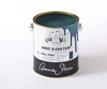 Aubusson Blue Wall Paint by Annie Sloan