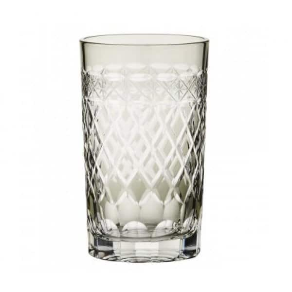 Beautiful mouth-blown 'Esther' Water Glass, Sage Green. By Lene Bjerre of Denmark
