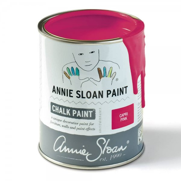 Capri Pink Chalk Paint by Annie Sloan