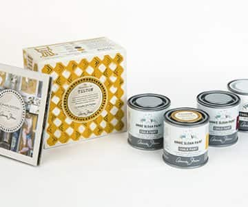 Charleston: Decorative Paint Set in Tilton by Annie Sloan