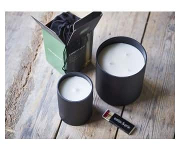 'Christian' Triple Wick Scented Candle. By Ester & Erik of Denmark
