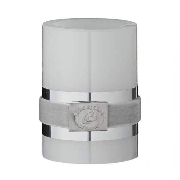 Classic White LED Pillar Candle range. By Lene Bjerre of Denmark