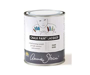 Clear Gloss Chalk Paint Lacquer by Annie Sloan