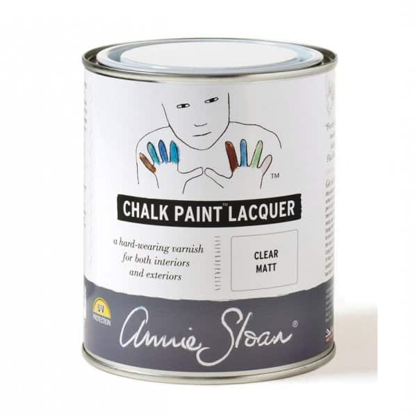 Clear Matt Chalk Paint® Lacquer by Annie Sloan