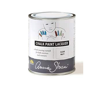 Clear Matt Chalk Paint Lacquer by Annie Sloan