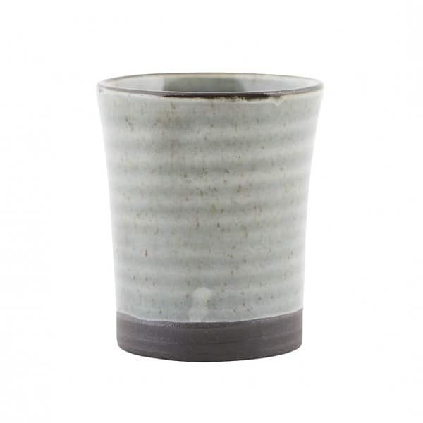 'Cloud 9' Espresso Cup / Egg Cup, made from Stoneware, presented in Grey. By House Doctor