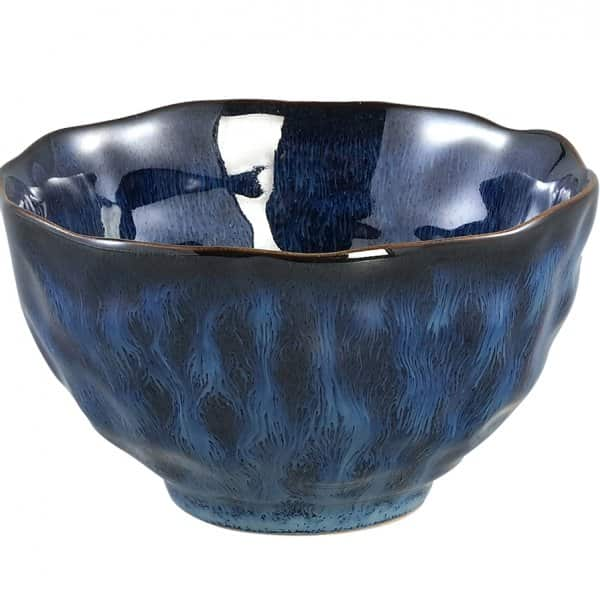 'Coutler Blue' Ceramic Bowl range. By PTMD Collection®