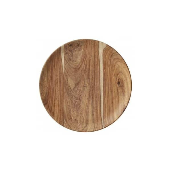 'Dena' Chopping Board / Tray made from Sheesham Wood (Ø20cm) by Lene Bjerre