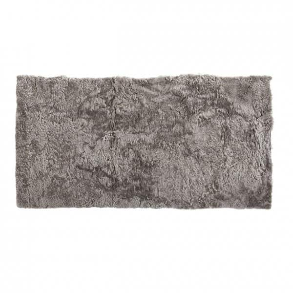 'Ebba' - 100% Short-Haired Sheepskin Rug in colour: Stone. By Shepherd of Sweden.
