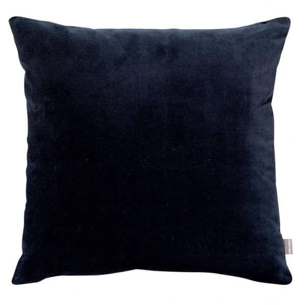 'Elise' Cushion range, made from 100% Cotton, presented in Cobalt. By Vivaraise of France