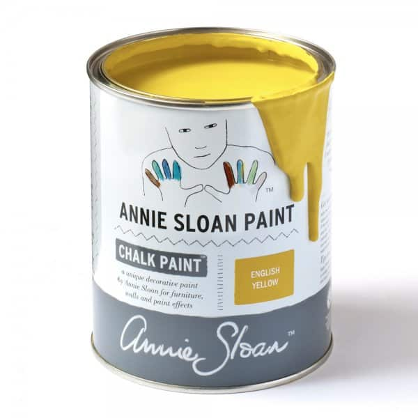 English Yellow Chalk Paint by Annie Sloan