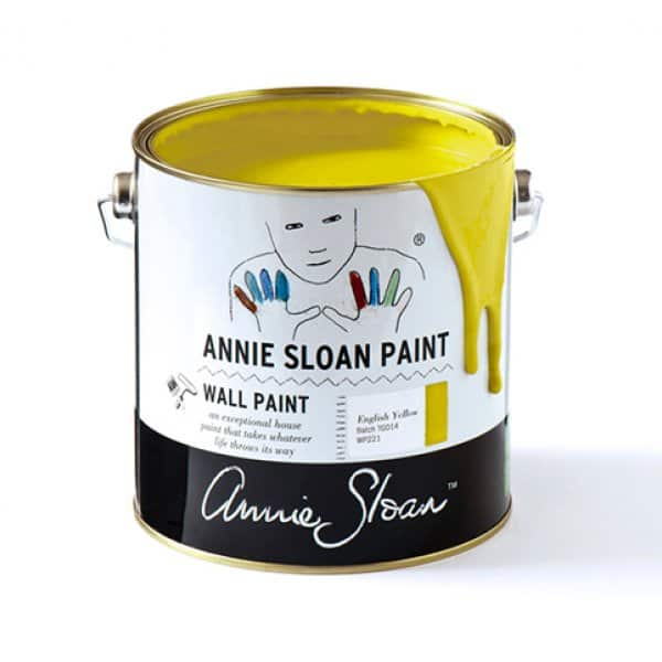 English Yellow Wall Paint by Annie Sloan