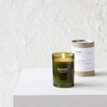 'Fig & Apricot' Scented Candle