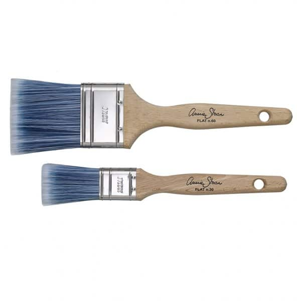 Flat, Nylon Paint Brushes by Annie Sloan
