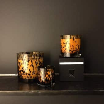'Fleur de Lotus' scented candle, Spotted cylindrical Votive