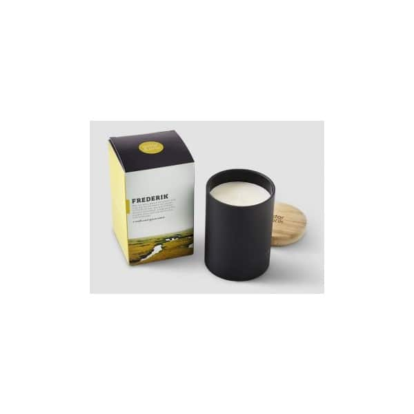 'Frederik' Single Wick Scented Candle. By Ester & Erik of Denmark