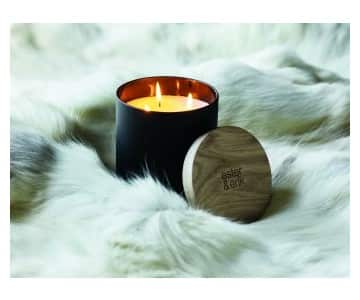'Frederik' Triple Wick Scented Candle. By Ester & Erik of Denmark