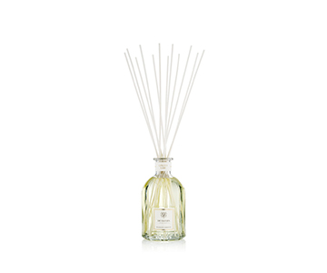 Ginger Lime Diffuser Collection, presented in a stunning Glass Bottle, scented with Lime, Ginger & White Pepper. From Dr. Vranjes