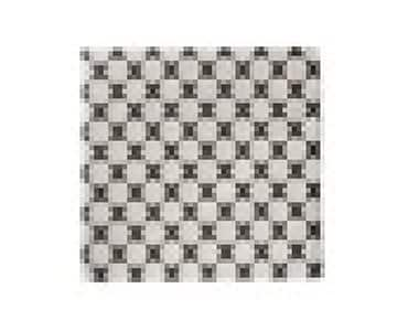'Graphic' Paper Napkin with a check print. By ON Interior of Sweden. 50% Off!