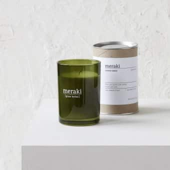 'Green Herbal' Scented Candle