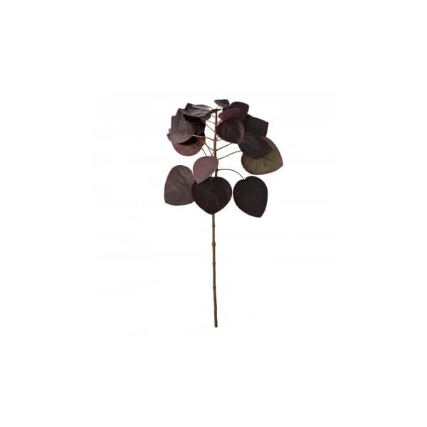Handmade Flora Smoke Bush in Bordeaux (colour), Artificial. By Lene Bjerre of Denmark