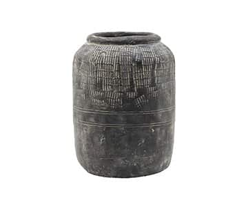 'Jalna' Vase, made from Cement, and presented with a unique and handmade finish. By House Doctor of Denmark