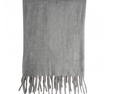 Luxurious 'Lucian' Throw in Grey. By ON Interior of Sweden