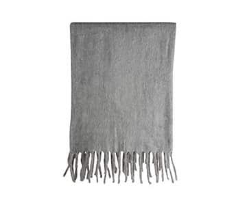 Luxurious 'Lucian' Throw, made from Wool, in Grey. By On Interior of Sweden