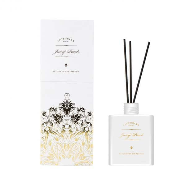 Luxury 'Victorian Juicy Peach' Diffuser. 'Victorian Candles' by ON Interior of Sweden