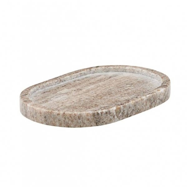 Marble is a storage / serving Tray, made from Marble, and presented in Natural with Beige nuances. By Meraki  of Denmark