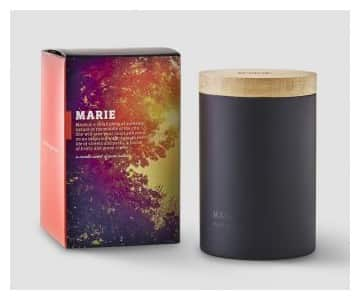 'Marie' Single Wick Scented Candle. By Ester & Erik of Denmark
