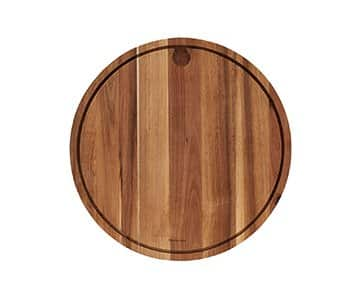 'Meat' Cutting / Chopping Board, made from Acacia Wood, and presented in its raw colour. By Nicolas Vahé of Denmark
