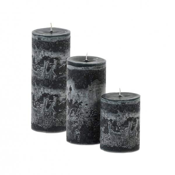 'Midnight Green' unscented candle range, beautifully hand-poured & handmade. By Dekocandle of Belgium