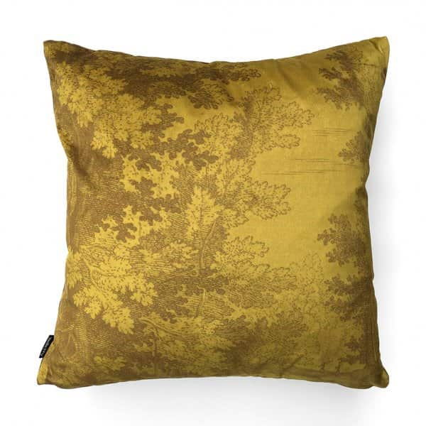 'Muscard Woods' Velvet Cushion, with Duck down filling (optional), by Vanilla Fly of Denmark