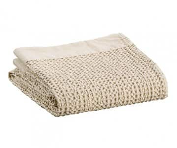 'Nagari' Towel range, made in Portugal from 100% Cotton, and presented in Linen. By Vivaraise of France