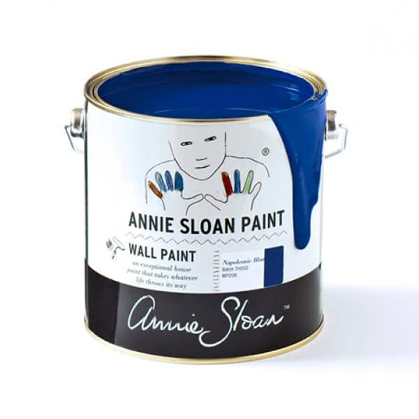 Napoleonic Blue Wall Paint by Annie Sloan