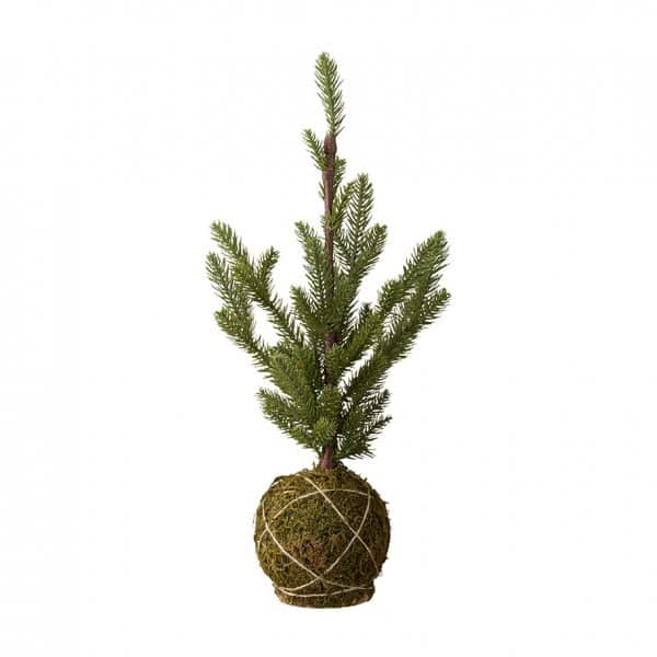 'Pinea' Pine Tree in Green, artificial and allergy-friendly, by Lene Bjerre of Denmark