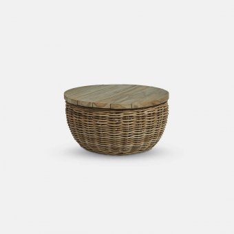Antibes, Coffee Table, Rattan, Natural / Antibes (65x32cm)