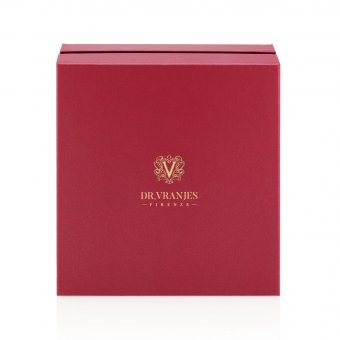 Rosso Nobile Gift Set, 80g Scented Candle, 200g Scented Candle, Gift Box, Gold gift card