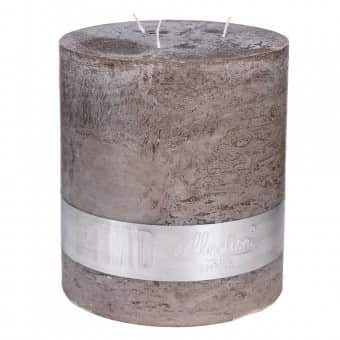 Rustic 'Ambient Brown' unscented Triple Wick Candle. By PTMD Collection®