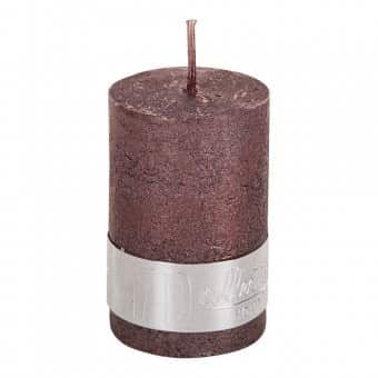 Rustic 'Bronze' Pillar Candle. By PTMD Collection®