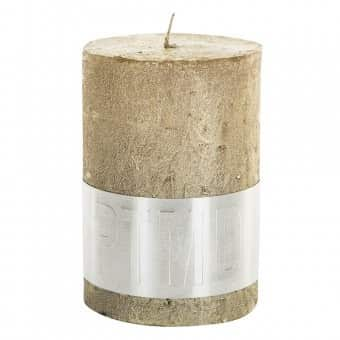 Rustic 'Gold' Pillar Candle. By PTMD Collection®