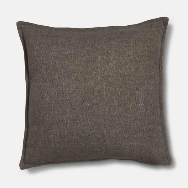 Scatter Cushion, made from Linen, and presented in Grey. Presented by The Vintage Garden Room